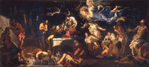 Tintoretto, Rochus im Kerker by AKG  Images
