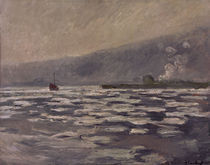C.Monet, Les Glacons, ecluse de Port V. by AKG  Images