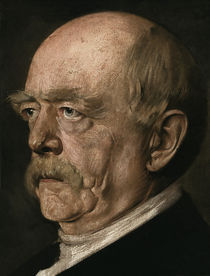 Otto von Bismarck / Gem.v.Lenbach by AKG  Images