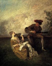 Watteau, Der Gesangsunterricht von AKG  Images