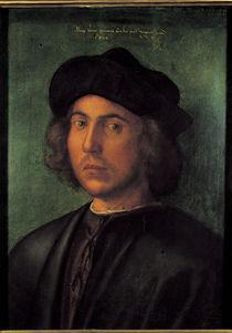 A.Duerer, Bildnis eines jungen Mannes by AKG  Images
