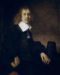 Rembrandt, Portraet eines jungen Mannes von AKG  Images