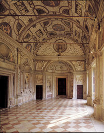 Mantua, Palazzo Ducale, Galleria Mesi by AKG  Images