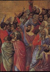 Duccio, Kreuzigung Christi, Ausschnitt von AKG  Images