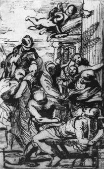 N.Poussin, Martyrium Hl.Erasmus / Zng. von AKG  Images