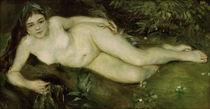 A.Renoir, Nymphe an einem Bach von AKG  Images