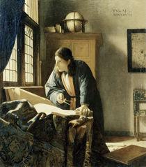 Vermeer, Der Geograph by AKG  Images