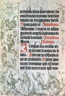Albrecht Duerer, Seite aus Gebetbuch Max. by AKG  Images