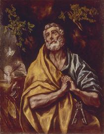 El Greco, Weinender Petrus von AKG  Images