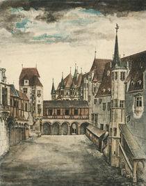 Duerer, Hof des alten Schlosses Innsbruck von AKG  Images