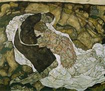E.Schiele, Tod und das Maedchen von AKG  Images