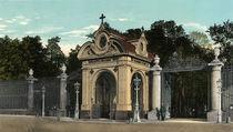 St.Petersburg, Sommergarten, Eingang von AKG  Images