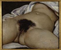 G.Courbet, Der Ursprung der Welt von AKG  Images
