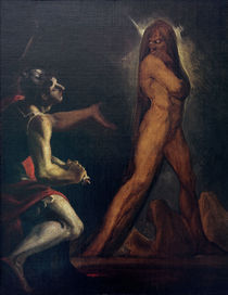 J.H.Fuessli, Odysseus und Schatten Ajas by AKG  Images