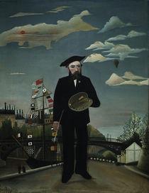 Henri Rousseau, Selbstbildnis 1890 von AKG  Images