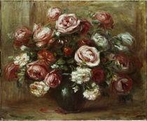 A.Renoir, Rosenstilleben von AKG  Images