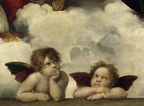 Raffael, Sixtinische Madonna / Ausschn. by AKG  Images