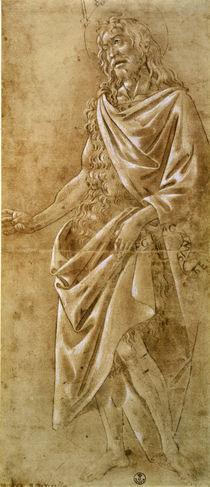 Sandro Botticelli, Johannes der Taeufer by AKG  Images