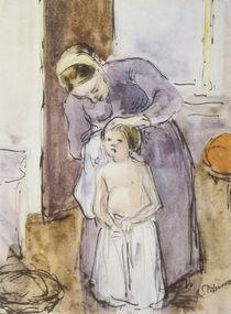 Pissarro/Toilette (Mutter und Kind)/1883 by AKG  Images