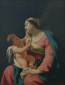 S.Vouet, Madonna mit dem Kind von AKG  Images