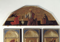 Giov.Bellini, Gottvater mit Verkuendigung von AKG  Images