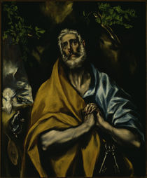 El Greco, Weinender Petrus by AKG  Images