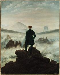 C.D.Friedrich, Wanderer ueber Nebelmeer von AKG  Images