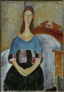 A.Modigliani, Jeanne Hebuterne Sweater by AKG  Images