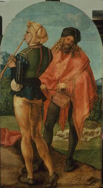 Albrecht Duerer, Pfeifer und Trommler1504 by AKG  Images