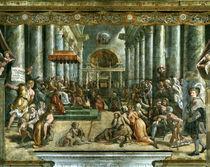 Giulio Romano, Konstantinische Schenkung von AKG  Images