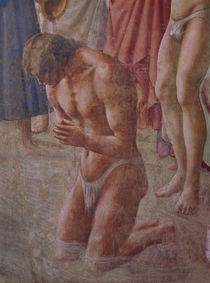 Masaccio, Petrus tauft Neophyten, Auss. von AKG  Images