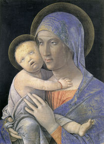 Andrea Mantegna, Maria mit Kind by AKG  Images