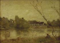 C.Corot, Teich von Ville d'Avray von AKG  Images