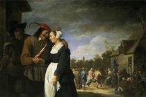 David Teniers d.J. / Bauernhochzeit by AKG  Images