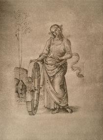 Perugino, Katharina von Alexandrien von AKG  Images
