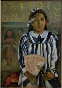 P.Gauguin/Marahi metua no Tehamana von AKG  Images