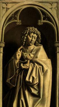 J.v.Eyck, Genter Altar, Johannes Ev. by AKG  Images