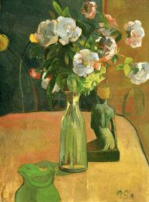 P. Gauguin, Rosen und Statuette / 1890 by AKG  Images