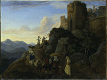 L.Richter, Civitella (Der Abend) by AKG  Images