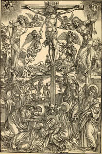 Albrecht Duerer, Grosse Kreuzigung von AKG  Images