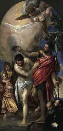 Veronese, Taufe Christi by AKG  Images