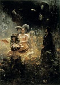 Ilja Repin, Sadko im Reich des Meerk. von AKG  Images