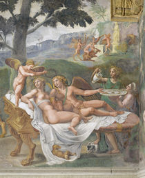Giulio Romano, Amor und Psyche von AKG  Images