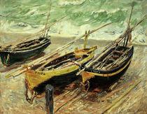 Claude Monet, Drei Fischerboote by AKG  Images