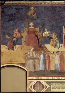 A.Lorenzetti, Justitia und Concordia by AKG  Images