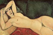 A.Modigliani, Nu couche, un bras replie by AKG  Images