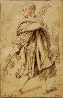 P.P.Rubens, Studie eines Hellebardiers by AKG  Images