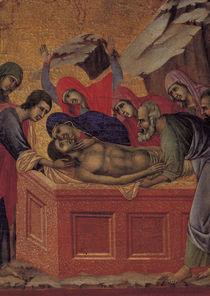 Duccio, Grablegung Christi, Ausschnitt von AKG  Images
