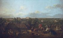 Bellotto, Ansicht von Ujazdow... von AKG  Images