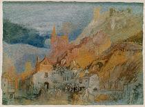 W.Turner, Am Ende des Weges von Bernkast von AKG  Images